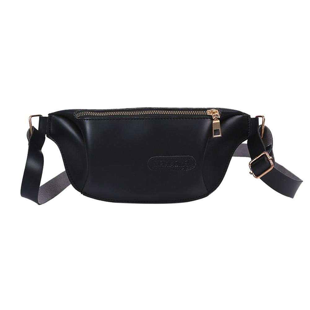 Casual PU Waist Bags For Women Fashion Designer Fanny Pack Bolsas Women's Sports Purse Package Messenger Bag Tassen Voor Vrouwen