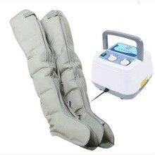 Компрессионный ручной массажер с ручным контроллером, комплект с насосом для циркуляции крови, для расслабления талии, двух рук, ног