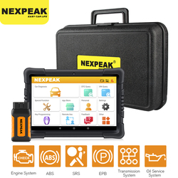 NEXPEAK Obd2 Scanner K1 Pro Car Diagnosis Universal ABS SRS DPF Oil Reset Bluetooth Auto Key Programmer Code Reader PK X6 MK808