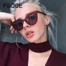 FSQCE Occhio di Gatto Donne Occhiali Da Sole di Modo di Marca di Lusso Del Progettista Della Signora Femminile Occhiali Da Sole Per Le Donne Oculos De Sol