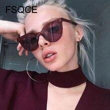 FSQCE Cat Eye Women Sunglasses Fashion Luxury Brand Designer