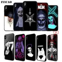 IYICAO Sister Nun Soft Phone Case for iPhone 11 Pro XR X XS Max 6 6S 7 8 Plus 5 5S SE Silicone TPU 7 Plus iyicao airplane red space soft phone case for iphone 11 pro xr x xs max 6 6s 7 8 plus 5 5s se silicone tpu 7 plus