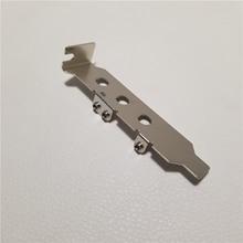 10 sztuk/partia niskoprofilowy adapter wspornika przegroda portu do notebooka Mini PCI E na pulpit do bezprzewodowego/Wan/3G WAN