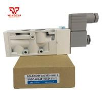 Mindman алюминиевый сплав пневматический Соленоидный клапан MVSC-460-4E1