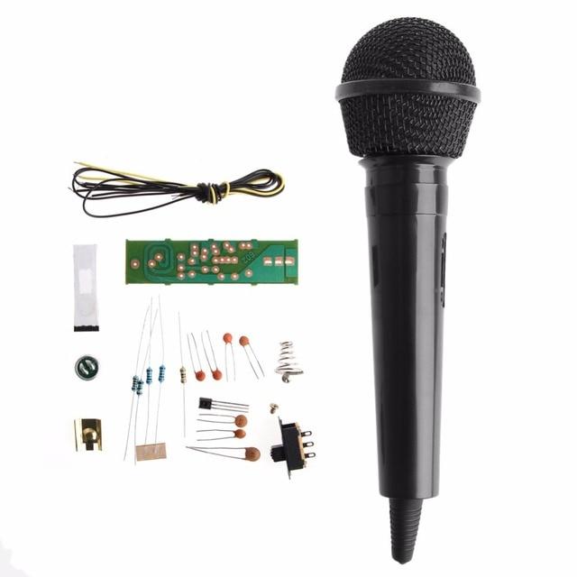 1 סט חדש FM תדר אפנון אלחוטי מיקרופון אלקטרונית אלקטרוני הוראת DIY ערכות