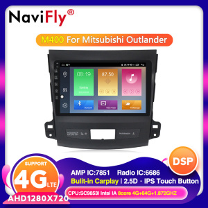 Android 10 DSP IPS For Mitsubishi Outlander 2006-2014 Peugeot 4007/Citroen C-Crosser Car DVD multimedia GPS navigation Player(China)