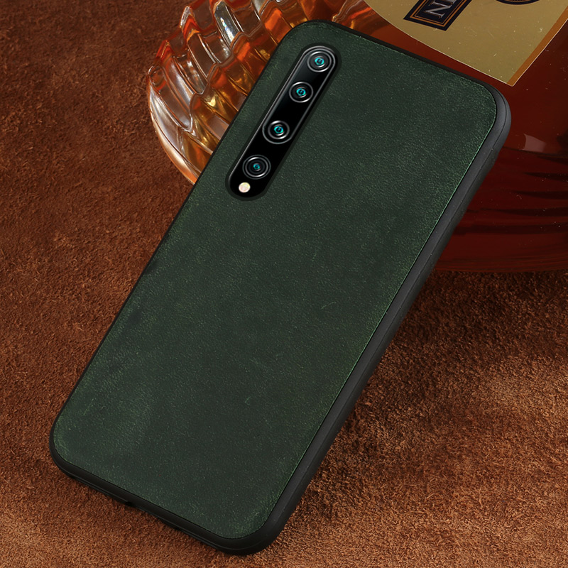 Genuine Leather Phone Case For Xiaomi Mi 10 Pro Mi10 Mi9 Mi8 Max3 Mix3 Cover For Xiaomi Redmi Note 8T Note 7 Note 6 Coque