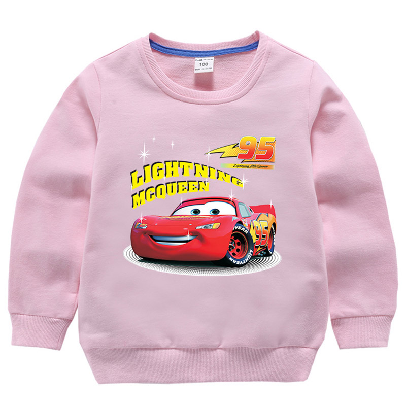 Children 39 s sweater 2019 autumn children 39 s clothes boy and girl cartoon car people print T shirt baby casual cotton child Hoodie in T Shirts from Mother amp Kids