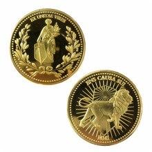 Colección de monedas de Metal para Cosplay, accesorio para disfraz de John Wick Continental, Hotel, monedas, Keanu, Reeves