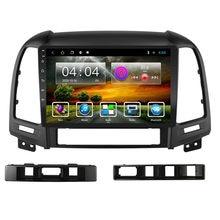 2,5 D Android Für Hyundai Santa Fe 2006-2012 Auto Multimedia-Player Navigation GPS Wifi 2 Din FM AutoRadio kopf Einheit Stereo