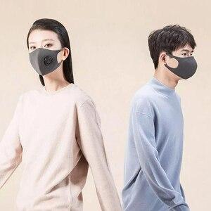 Image 5 - В наличии Быстрая доставка Youpin Smartmi фильтр Маска блок 96% PM 2,5 вентиляционный клапан долговечный ТПУ материал маска против смога