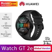 Version globale HUAWEI Watch GT 2e GT 2 e Montre Intelligente D'oxygène Sanguin 1.39 ''Écran AMOLED 14 Jours 5ATM Étanche Fréquence Cardiaque Piste