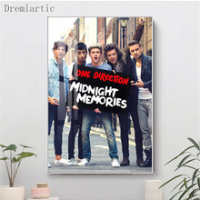 Art-Paintings Bedroom Posters Wall-Poster Canvas Living-Room Prints Home-Decor One Direction