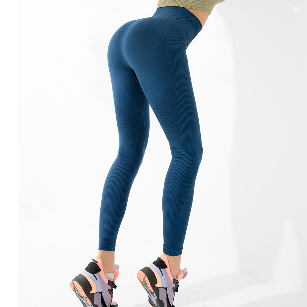High-waisted Tight Gymnastic Pants Women's Slimming Ultra-stretch Quick-Dry Fitness Pants Training Yoga Butt-lift Underwear