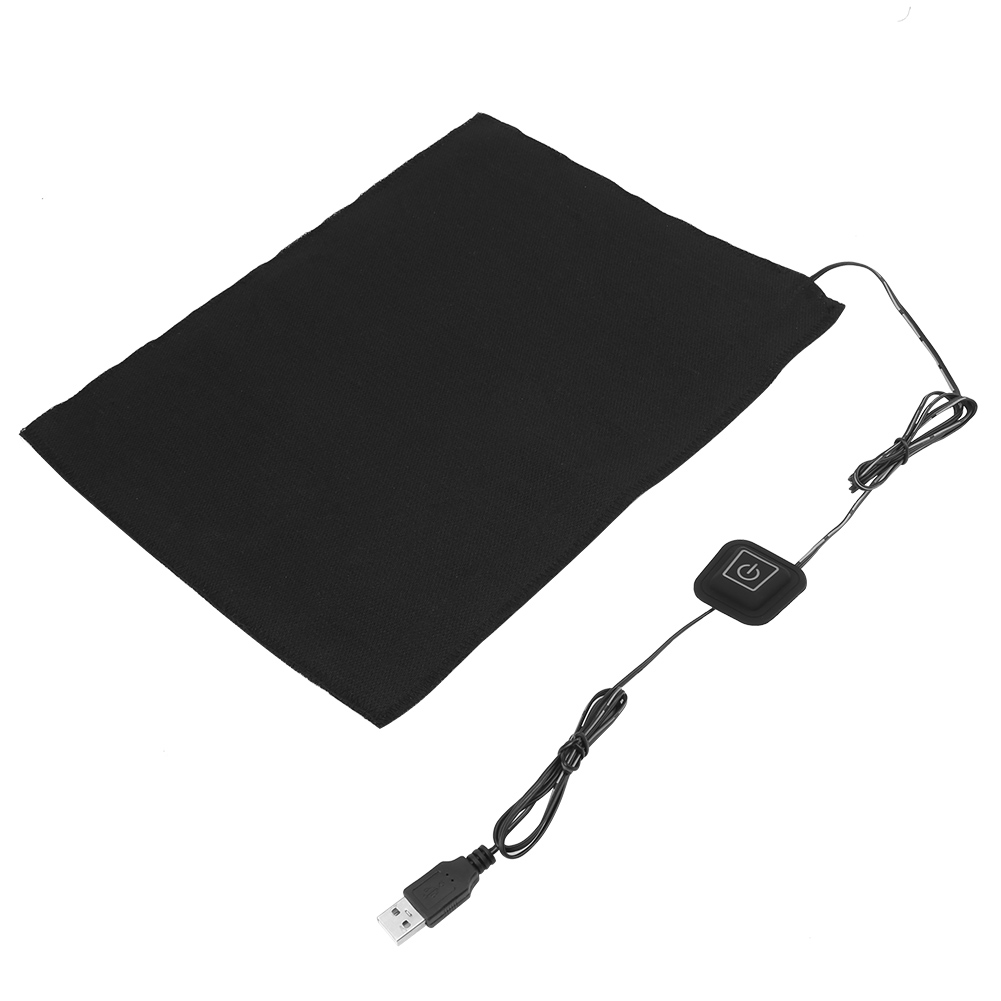 DC 5V 3-Shift USB Electric Cloth Heater Pad Heating Element For Pet Warmer Electric Cloth Heater Braces Supports