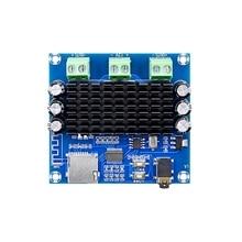 XH A272 블루투스 5.0 tda7297 디지털 전력 증폭기 보드 2x15 w 무선 스테레오 오디오 앰프 모듈 지원 tf 카드 aux