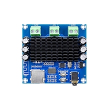 XH A272 Bluetooth 5.0 TDA7297 digital Power amplifier board 2x15W Wireless Stereo Audio AMP Module Support TF Card AUX