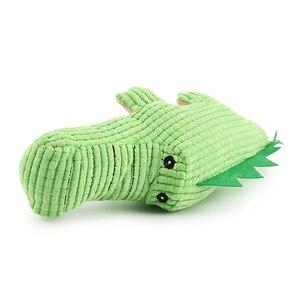 Image 5 - Krokodyl zabawki dla psów pluszowy miękki kot piszcząca zabawka zabawka dla zwierząt interaktywne ugryzienie zabawki dźwiękowe Chihuahua zabawki dla szczeniąt