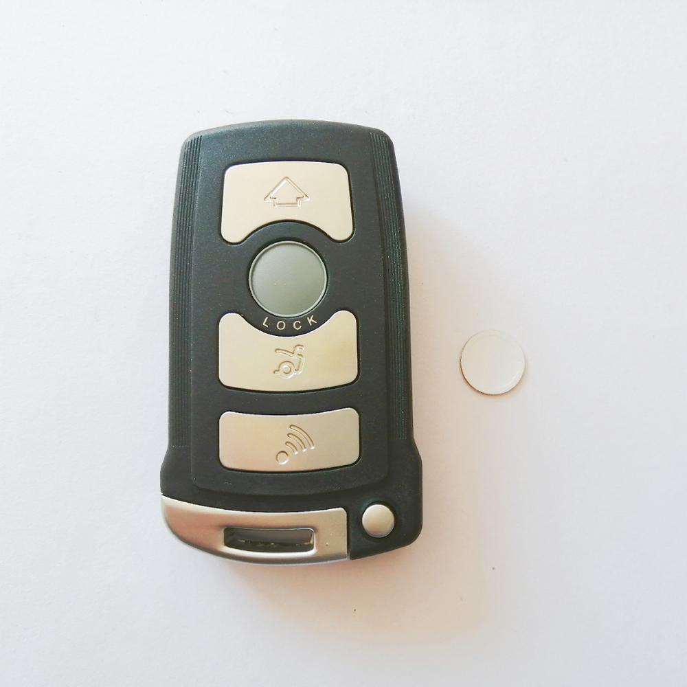 With Logo Remote Car Key Case Styling Key Shell Cover For <font><b>BMW</b></font> 7 Series E65 E66 E67 E68 <font><b>745i</b></font> 745Li 750i 750Li 760i Fob 4 Buttons image