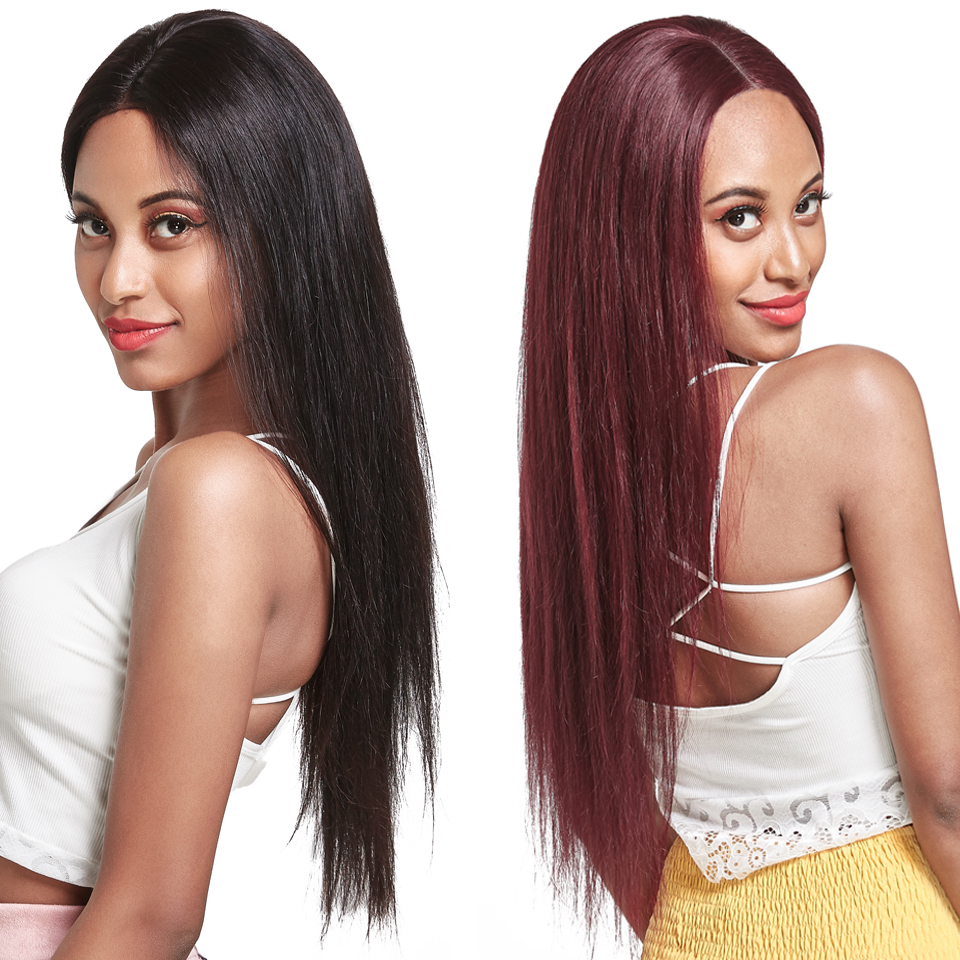 Brazilian Straight 4x4 Closure Wig Lace Closure Human Hair Wigs Pre Plucked With Baby Hair Remy 100% Human Hair Wigs No Smell