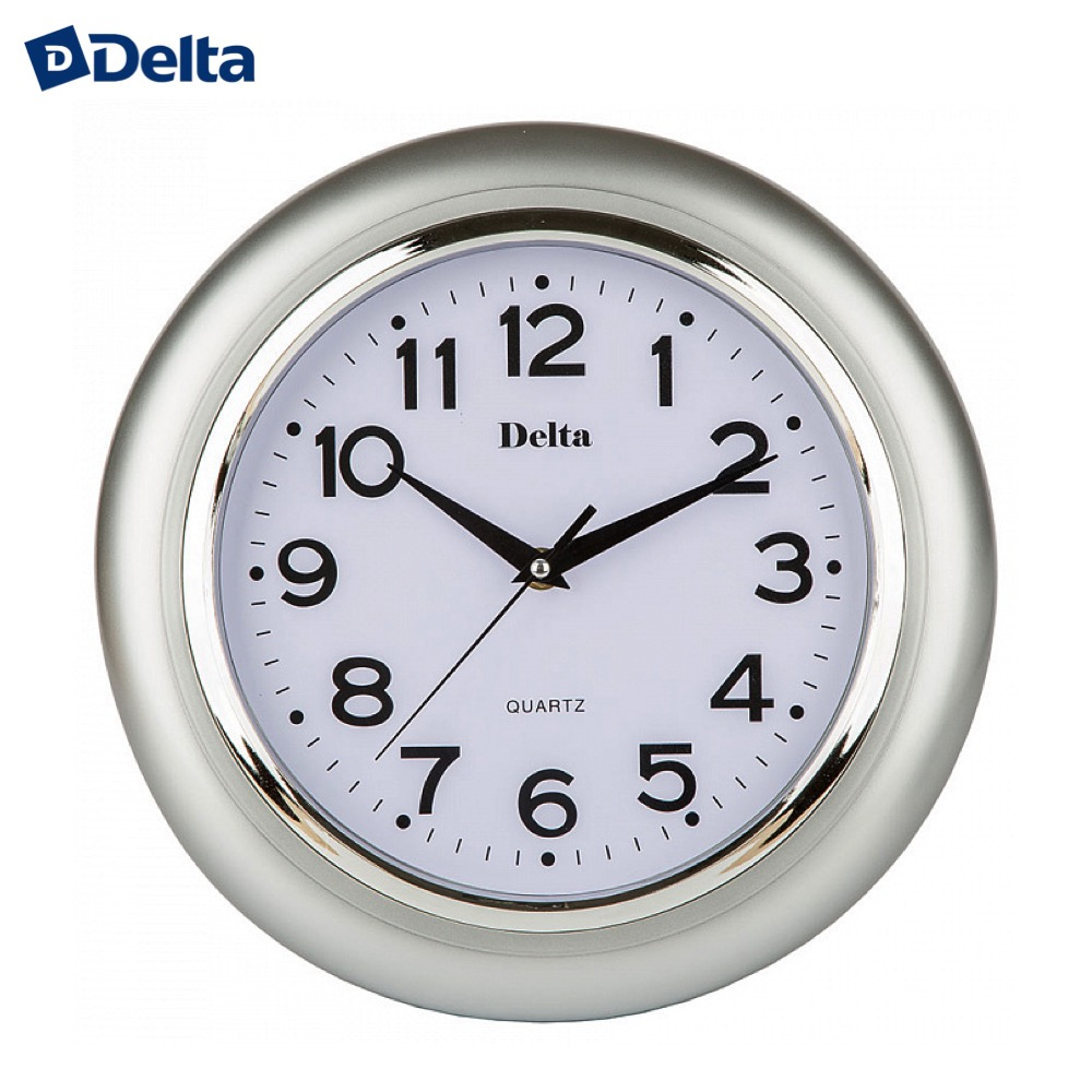 Wall Clocks Delta DT-0092  clock home decor classic look батарея delta dt 6045 4 5ач 6b