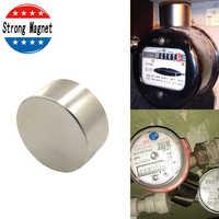 Slow Down Water Gas Meter N52 Strong magnets Round Dia 40mm x 20mm N52 Rare Earth Neodymium Magnet Art Craft Fridge