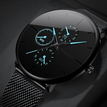 2020 Fashion Mens Business Analog Watch Minimalist Luxury Ul
