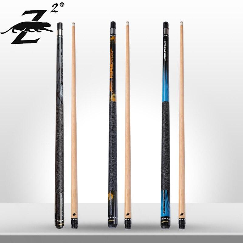 PREOAIDR 3142 Z2 Billiard Pool Cue 11.5mm 13mm Tip Uni-lock Maple Shaft Irish Linen Wrap Billiar Cue Stick Kit Professional