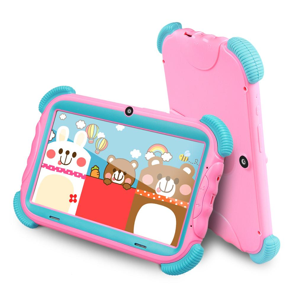 Update 7 Inch Android 8.1 Kids Tablet 16GB Babypad Edition PC With Wifi And Camera GMS Certified Supported Kids-Proof Case