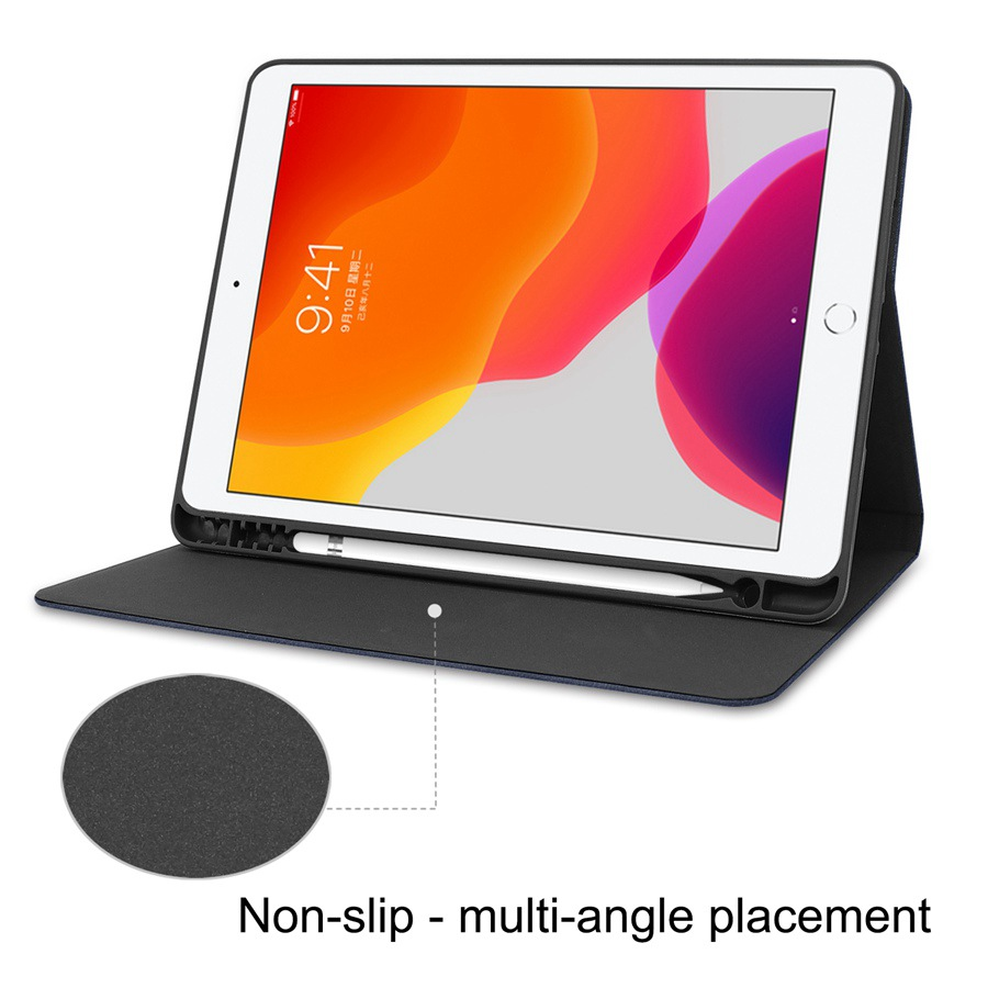 Cover A2200/A2198/A2232-case/Film--pen for 7th Pencil-Holder Case Apple iPad with Slim