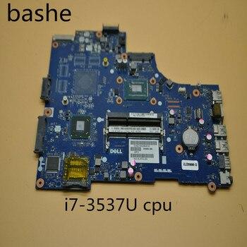 Para DELL la-9104p notebook placa base 5521 2521 placa base i7-3537u CPU 100% entrega gratuita