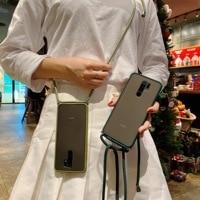 TPU Abdeckung Für Xiaomi Mi Poco M2 Pro Redmi 9C 9A 9 Prime 8A 7A Y3 8 Hinweis 9 8 7 6 Pro Max 9S 7S 8T Fall Bügel Ansatz Lanyard Fundas