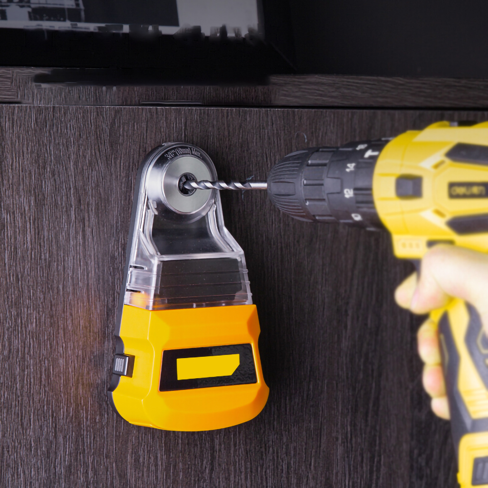 Tools : Dust Box Collector for  Electric Hammer Screwdriver Dust Removal Universal  Dust-free Drilling Tool Accessories Free Return