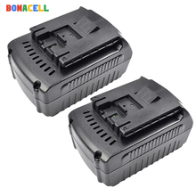 Bonacell For Bosch 18V 6000mAh Power Tools Battery Rechargeable Batteries Pack Cordless for Drill BAT609 BAT618 3601H61S10