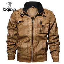 Motorcycle Jacket Men Stand Collar Leather Jackets Plus Size 6xl 7xl 3d Casual Jacket Chaqueta Hombre Mens Streetwear Clothes(China)