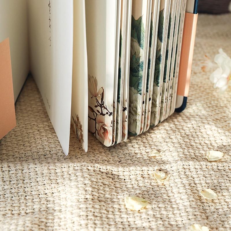 Цветной блокнот с внутренней страницей в китайском стиле, креативный дневник в твердой обложке, книги, Еженедельный планировщик, книга для скрапбукинга, красивый подарок 2
