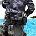 Männer Camouflage Angeln Locken Tasche Multi funktionale Angeln Felsen Angeln Tasche Schulter Tasche Schulter Angelrute Tasche Rucksack-in Angeltaschen aus Sport und Unterhaltung bei