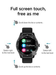 Image 4 - SENBONO كامل اللمس S6 ساعة ذكية IP67 مقاوم للماء الذكور معدل ضربات القلب ضغط الدم رصد Smartwatch سوار لياقة بدنية