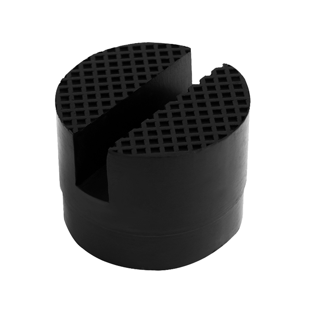 Image 2 - Car Rubber Jack Pad Frame Protector Adapter Jacking Disk Pad Tool Floor Slotted For Pinch Weld Side Lifting Disk Car Accessories
