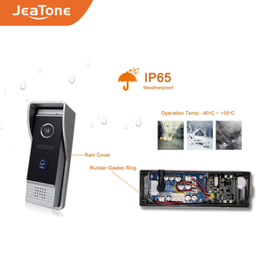Image 4 - JeaTone Smart WiFi Tuya 7 Home Video Door Phone System with Voice Message/Motion Detection/MP4 Player, Support Remote Control