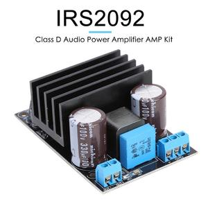 Image 5 - Placa amplificadora Mono IRS2092 de alta potencia 200W 20A, módulo de Audio de clase D, potencia Digital de vídeo, Chips amplificadores operativas