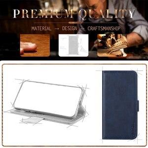 Image 5 - Sprawa dla Huawei Honor 6X przypadku magnetyczny portfel skórzany pokrowiec dla Huawei Honor GR5 2017 stojak Coque przypadki telefonów