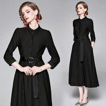 Женское ажурное платье в полоску модельное винтажное офисное
