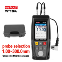 WINTACT Ultrasonic Thickness Gauge Meter Tester Battery Digital Width Measuing instruments Ultrasonic Thickness Gauge
