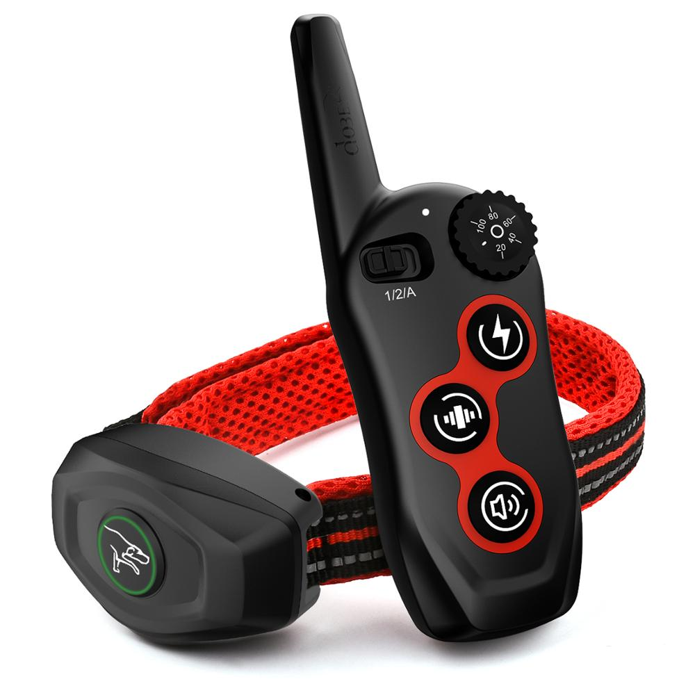 400M Rechargeable and 2 in 1 Dog Training Collar and Anti Bark Collar with Remote Control