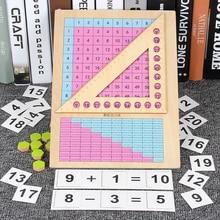 Математика игрушки деревянные Монтессори обучения развивающие игрушки для детей умножение деление сложение и вычитание СПИДа