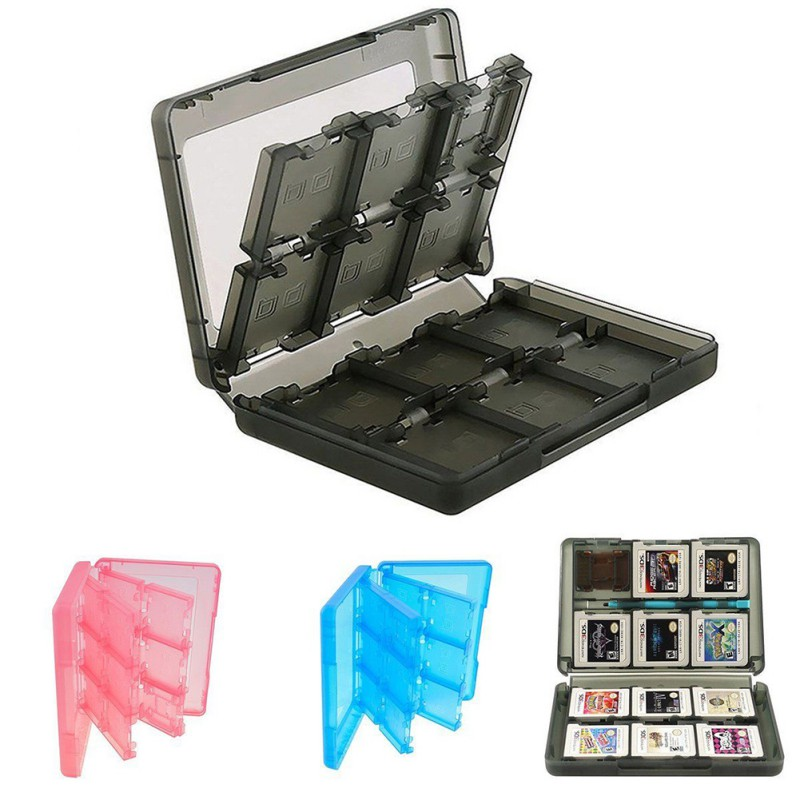 24 In 1 Portable Game Cards Case Shockproof Hard Shell Storage Box For Nintendo Switch NS Game Memory Card Holder Storage Case