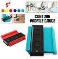 Kształt Contour Gauge duplikator profil narzędzie pomiarowe kontur duplikator szablon konturu plastikowy kontur kopiuj duplikator