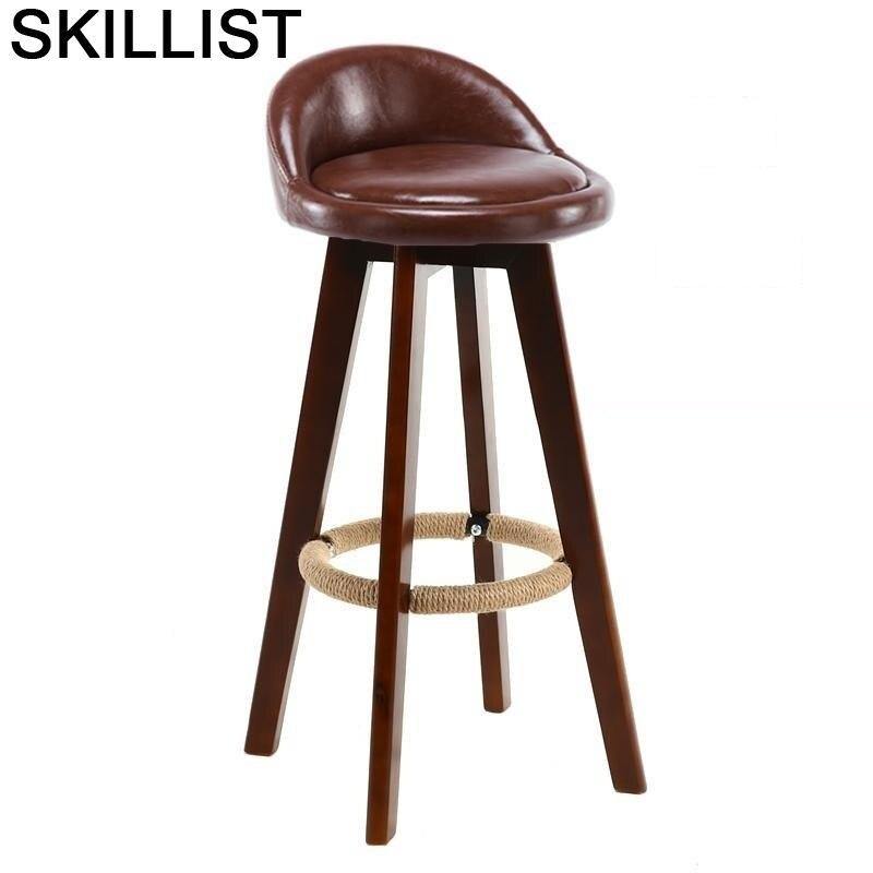 Cadeira Stoelen La Sgabello Banqueta Hokery Sandalyeler Taburete Para Barra Tabouret De Moderne Silla Stool Modern Bar Chair