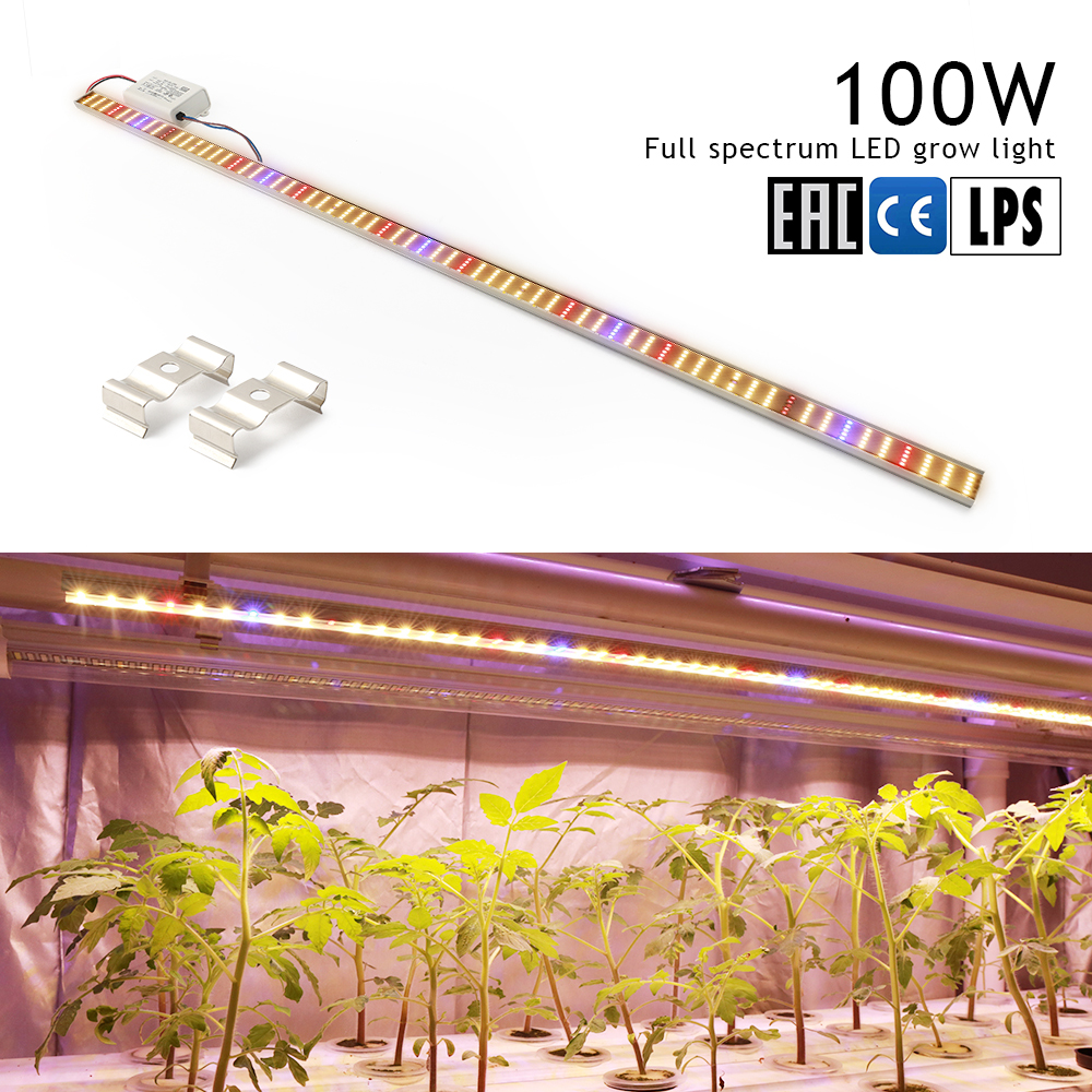 Full Spectrum Led Grow Light Tube LED Phyto Lamps Grow LED Lamp Bar Light Hydroponic Plant Growth Light Lamp For Plants Flowers